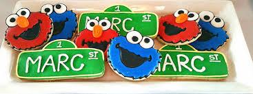 elmo party ideas kara s party ideas elmo cookie sesame birthday party