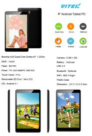 2017 quad core cheap 7 8 10 inch 2gb ram android 5 1 tablet with
