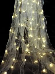 purchase some material and add lights it your bedroom