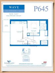 Waterscape Floor Plan Waterscapes Condos Maziar Moini Broker Canada