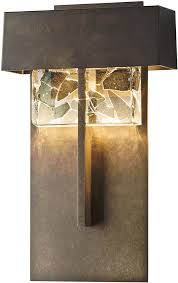 Hubbardton Forge Wall Sconces Hubbardton Forge 302517d Shard Led Exterior Wall Sconce Hub 302517d