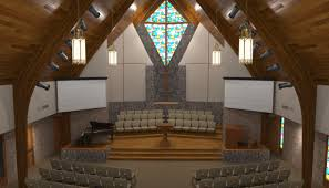 Renovations by Contemporary Renovations Of Church Sanctuary