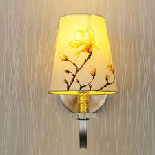 Yellow Wall Sconce Simple Design Brushed Nickel Wall Sconce With Glass Shade