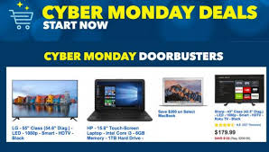 buy cyber monday doorbuster deals released