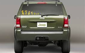jeep grand cherokee stickers unofficial jeep graphics jeep family decals