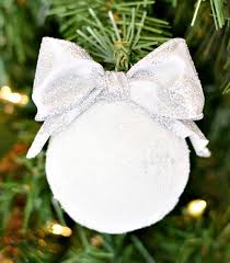 diy snowball ornaments allfreechristmascrafts