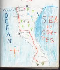 San Pancho Mexico Map by From The Archives An Eight Year Old U0027s Travel Journal 1987 The