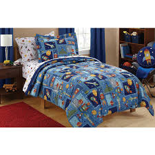 Spaceship Crib Bedding by Amazon Com 7 Piece Kids Spaceships Comforter Full Set Outer