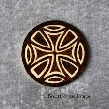 celtic iron cross magnet by breathofthedragon on zibbet
