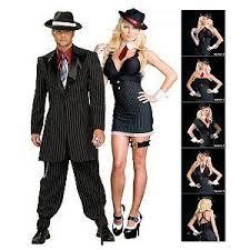 Halloween Gangster Costume Gangster Wrap Cheap Couples Halloween Costume
