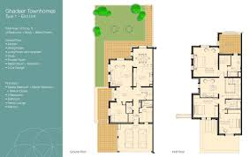 al barari the reserve onyx villa floor plans dubai dubai