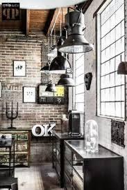 Industrial Design Kitchen by Nicole Loft Kitchen Lofts And Kitchen Industrial