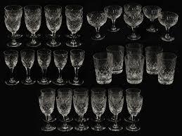 Stuart Crystal Vase Designs Webb Corbett