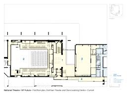 gallery of national theatre haworth tompkins 26 floor plans