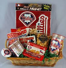 themed gift basket philadelphia phillies phan gift pack kremp