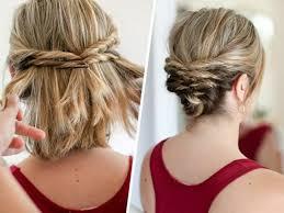 Hochsteckfrisurenen Selber Machen Schulterlanges Haar by Frisuren Zum Hochstecken Frisur Ideen 2017 Hairstyles