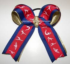 ribbon for hair that says gymnastics bulk red gymnastic bow wholesale us gymnastics ribbons red blue
