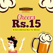 rs 15 to get unlimited beer for women amazedeal in pinterest