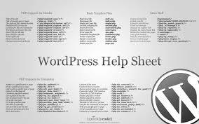 wordpress developer super cheat sheet wpmu dev