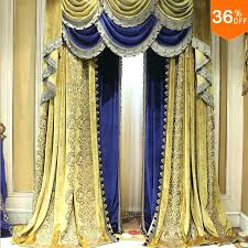 Blue And Gold Curtains Blue And Gold Home Decor Blue Gold Modern Navy Blue And Gold Room