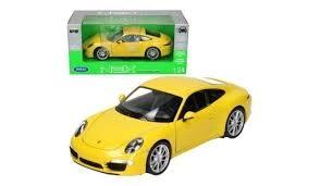 porsche 911 model kit welly model car porsche 911 s yellow model kits