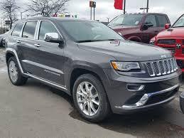 grey jeep grand cherokee 2016 2016 jeep grand cherokee summit 4x4 dark grey vaughan chrysler