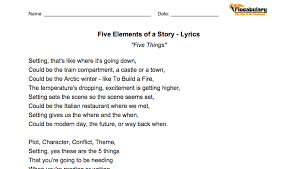 Printable Lyrics | new flocab feature printable lyrics