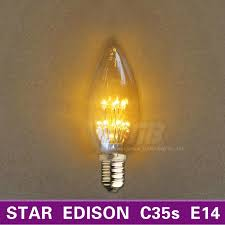aliexpress com buy star edison c35 led candle light bulb