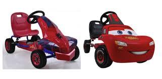 lighting mcqueen pedal car marvel spider man or disney lightning mcqueen pedal go karts only