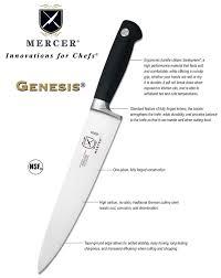 mercer kitchen knives cutlery