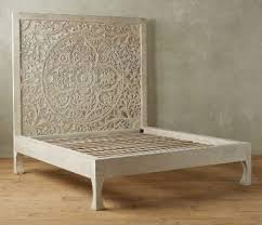 Carved Wood Headboard Carved Headboard Bed Alpa Corp Exporter In Saraswati Nagar