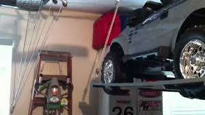 home made hoist for lifting power wheels jeep roof youtube