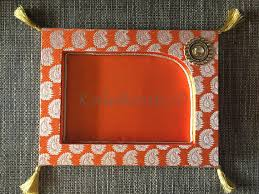 wedding trays pooja thali mehandi plate wedding trays trousseau tray