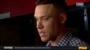 Aaron Judge Gary Sanchez Struggle In Game 1 Loss To Indians Newsday - aaron judge reflects on game 2 loss vs cleveland youtube