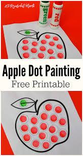 printable thanksgiving bingo apple dot painting dot marker printable the resourceful mama