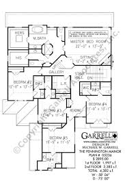 pennington manor house plan country farmhouse southern