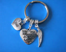 in memory of keychains in memory of etsy
