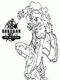 super coloring pages bakugan color print free