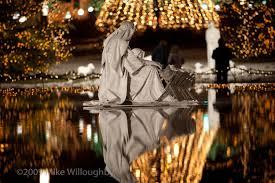 nativity scene at temple square