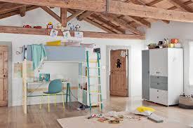 chambre kid lit enfant mezzanine chambre kid kidsroom bed deco pastel