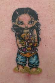 with voodoo doll by gentleman jacq tattoonow
