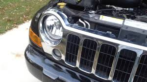 2002 jeep liberty fog lights 2005 2007 jeep liberty headlight change rid of the old fogged up