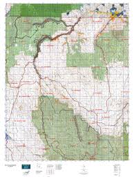 map of oregon springs or 57 sled springs map mytopo