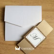 Wedding Invitation Pocket Envelopes Lace Wedding Invitations Free Shipping