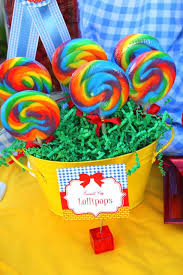 Lollipop Party Favors Wizard Of Oz Party Supplies Wizard Of Oz Birthday Party Decorations