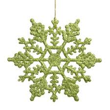 lime green ornaments