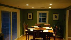 Dining Room Recessed Lighting Dining Room Recessed Lighting Layout Amusing In Rustic Table With