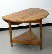 Vintage Drop Leaf Table Round End Table With Drop Leaf Traditional Vintage Drop Leaf
