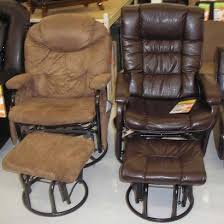coaster chenille glider and ottoman in chocolate nice glider recliner with ottoman coaster recliners with ottomans