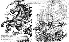 greek mythology tattoos custom tattoos made to order by juno